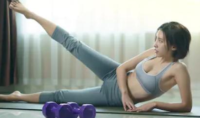 Workouts kann man von zu Hause